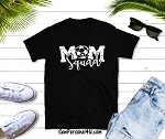 Soccer Mom Squad shirt in black