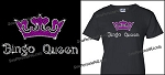 Bling Bingo Queen Shirt