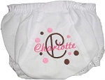 Ruffled Bloomers  Personalized