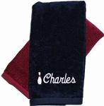 Personalized Bowling Towel