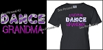 Dance Grandma Shirt in Bling