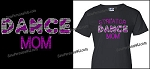 Dance Mom Shirt in Bling