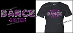 Dance Sister Shirt in Bling