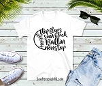 Flip Flops Sunblock and Ballin Nonstop Tshirt