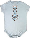 Lil Brother Applique Tie Shirt