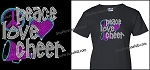 Peace, Love and Cheer Shirt