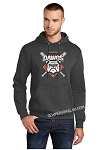 Diamond Dawgs Basic Gray Hoodie