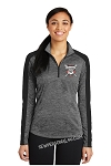 Diamond Dawgs Ladies Quarter Zip Pullover