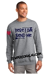 Here I am, Send Me | Chelsea Heart Sweatshirt