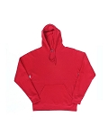 Cloud Fleece Hooded Pullover Sweatshirt -Red - XL