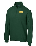 Embroidered 1/4 Zip Sweatshirt - St. Michael