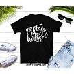 There's No Place like Home Tshirt in black