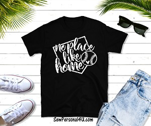 Distressed There's No Place like Home Tshirt