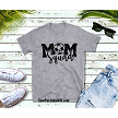 Soccer Mom Squad tshirt in gray