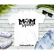 Soccer Mom Squad tshirt in white