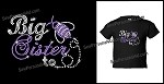 Big Sister to Bee Bling Tshirt