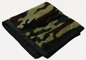 Personalized Camo Blankie