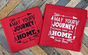 Journey always Lead you Home Blanket