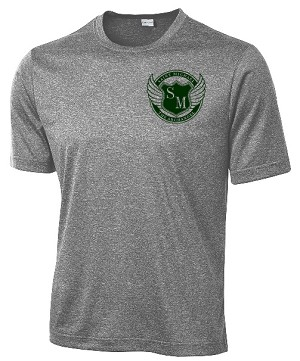St. Michael Performance Tshirt in gray