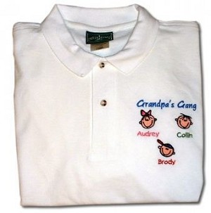 Personalized Polo for Dad or Grandpa