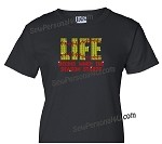 Life Begins when Softball Starts Shirt