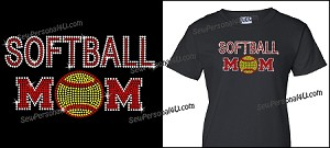 Softball Mom in Bling