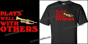 Band Shirt - Plays Well with Others