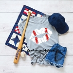 Baseball Lips Tshirt