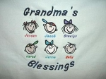 Personalized Grandma Shirts with Kid Faces
