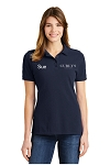 Curly's Ladies Pique Polo