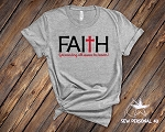 Faith Tshirt - Forwarding All Issues to Heaven