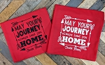 May Your Journey Always Lead you Home Blanket - Personalized