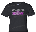 Volleyball Mom in Bling