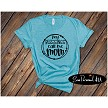 My Blessings Call Me Mom on Aqua Tshirt