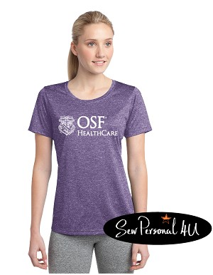 OSF Purple Performance Tee